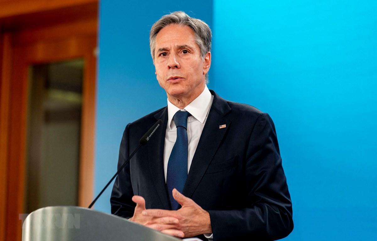 Ngoại trưởng Mỹ Antony Blinken. (Nguồn: AFP/TTXVN)