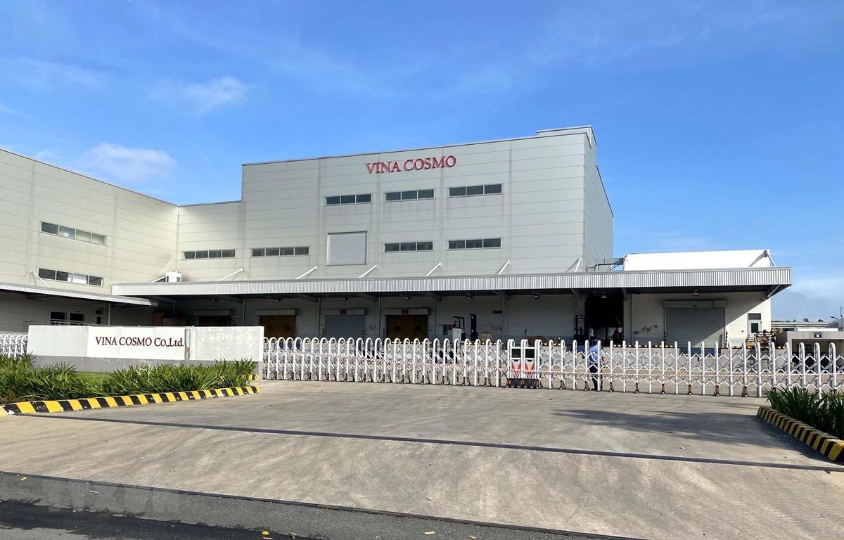 Các doanh nghiệp trong Khu chế xuất Tân Thuận có ca nhiễm COVID-19 tạm ngừng hoạt động để phòng dịch. (Ảnh: Thanh Vũ/TTXVN)