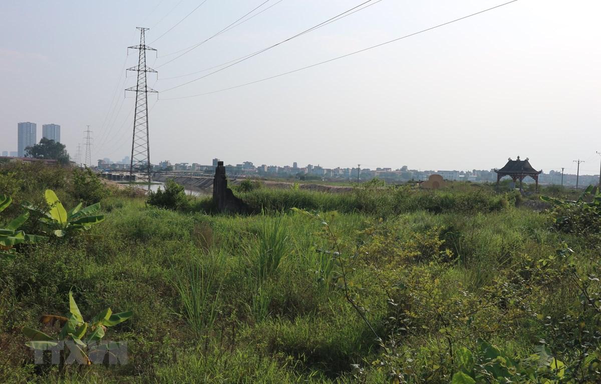 Cụm di chỉ Vườn Chuối tại xã Kim Chung (Hoài Đức, Hà Nội). (Ảnh: Mạnh Khánh/TTXVN)