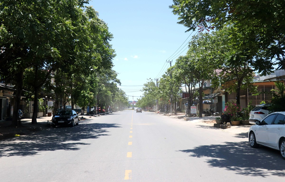 Nắng nóng gay gắt tại Đông Hà, Quảng Trị. (Ảnh: Nguyên Lý/TTXVN)