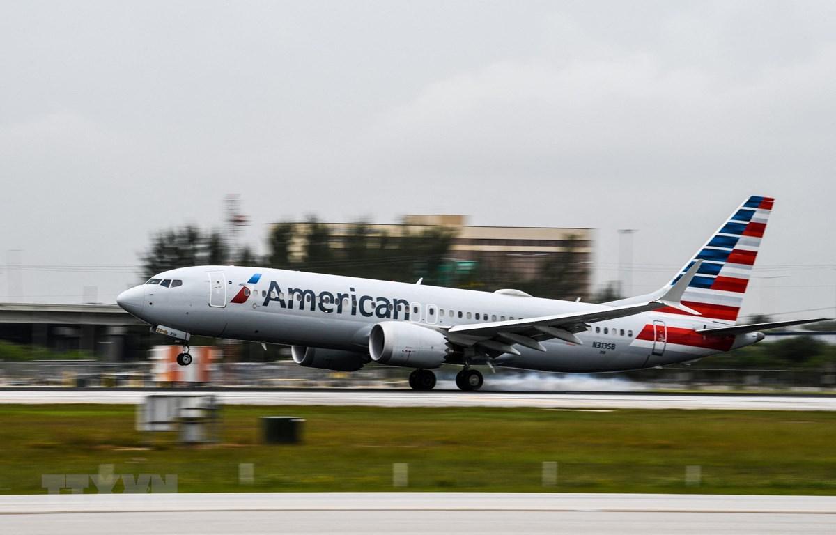 Mỹ huy động máy bay thương mại để sơ tán người khỏi Afghanistan. ( Ảnh: AFP/TTXVN)
