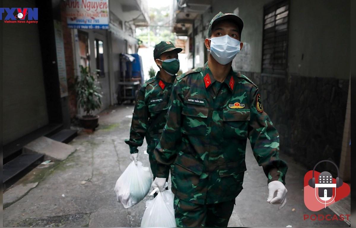 """[Audio] Dịch COVID-19: """"Đi chợ hộ"""" người dân tại Thành phố Hồ Chí Minh"""