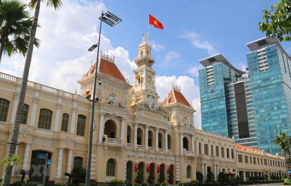Thành phố Hồ Chí Minh tiếp tục giãn cách xã hội theo chỉ thị 16. (Ảnh: Thanh Vũ/TTXVN)