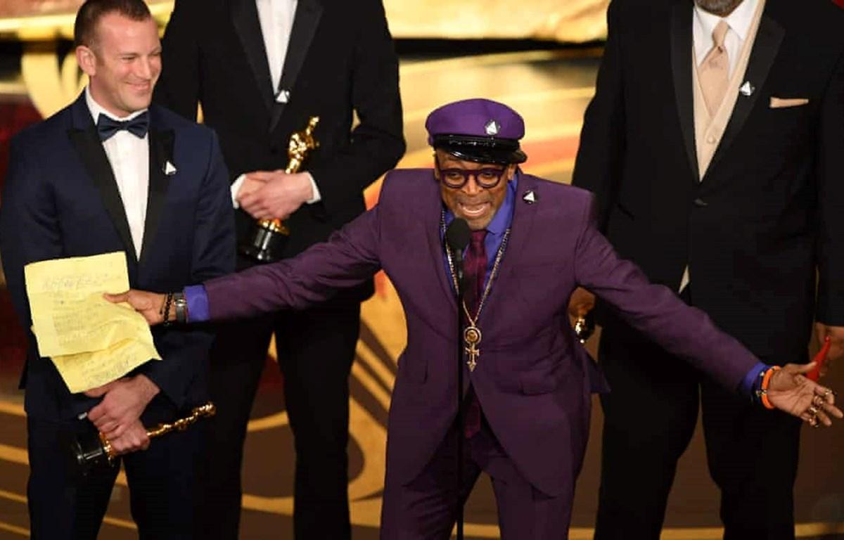 Đạo diễn Spike Lee định bỏ về vì bức xúc khi Green Book giành giải Phim hay nhất (Nguồn: Getty)