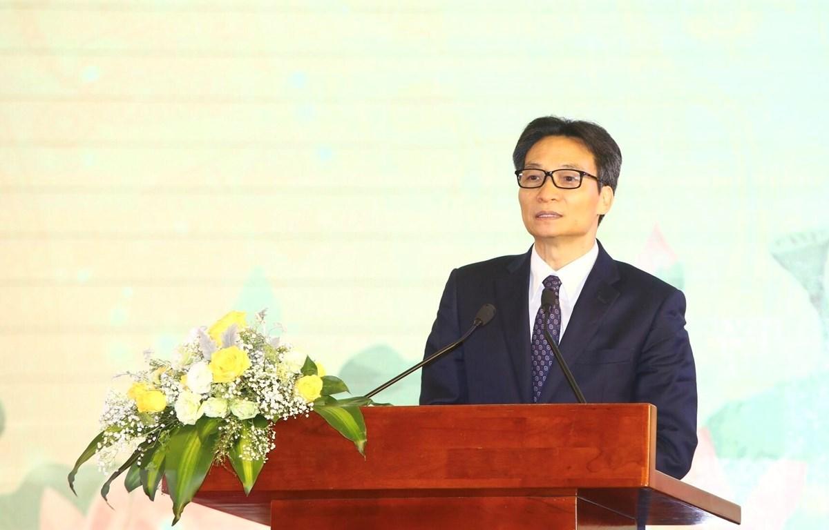 Phó Thủ tướng Vũ Đức Đam phát biểu. (Ảnh: Minh Quyết/TTXVN)
