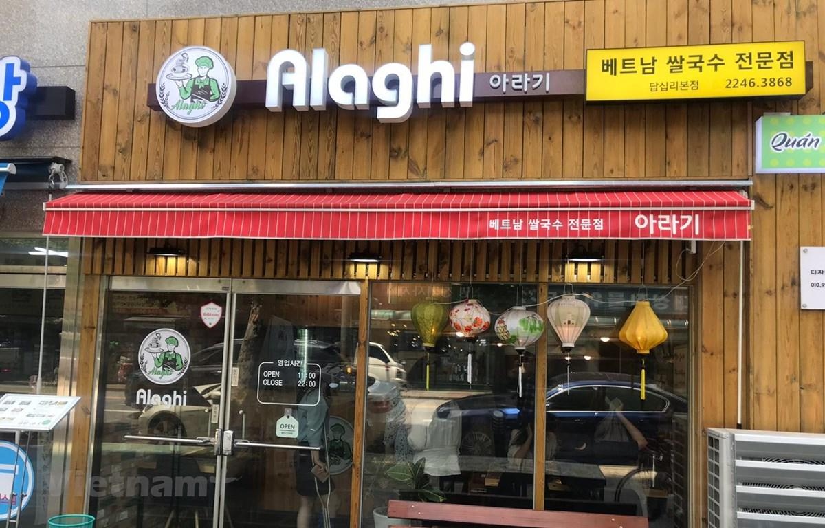 Chuỗi nhà hàng Việt Alaghi. (Ảnh: Mạnh Hùng/Vietnam+)