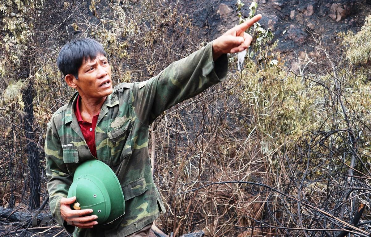 Chuyện về người hùng mở đường băng cản lửa chữa cháy rừng