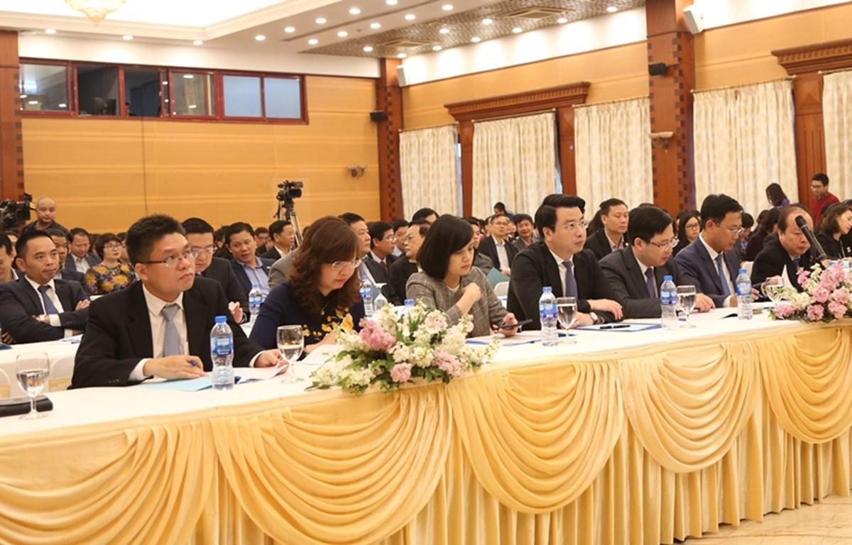 Ủy ban Chứng khoán Nhà nước sẽ tăng cường giám sát đối với hoạt động huy động, sử dụng vốn trên thị trường. (Ảnh: PV/Vietnam+)