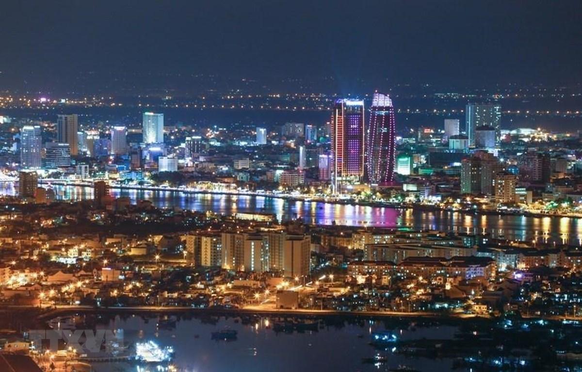 """Đà Nẵng là một trong 20 thành phố xanh trên thế giới có hàm lượng cacbon trong khí thải ra môi trường thấp nhất và được bình chọn là """"Thành phố đáng sống nhất"""" tại Việt Nam. (Nguồn: TTXVN)"""
