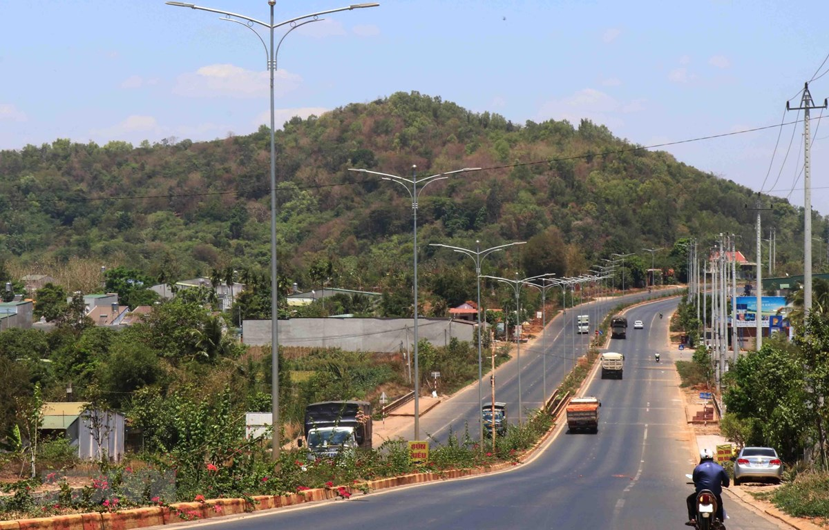 Đường tránh phía Tây thành phố Buôn Ma Thuột giảm thiểu áp lực giao thông cho trung tâm thành phố.