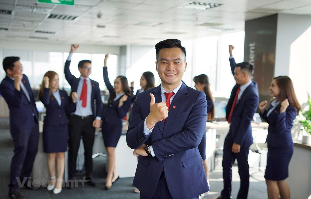 SSI dẫn đầu bảng xếp hạng Top 10 thị phần môi giới cổ phiếu và chứng chỉ quỹ quý 1/ 2019 trên sàn HoSE (Ảnh: SSI/Vietnam+)