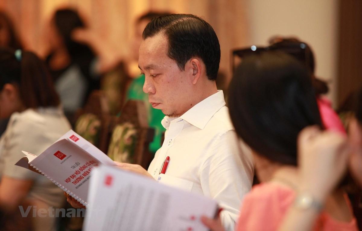 Đại hội đồng cổ đông SSI thông qua chỉ tiêu doanh thu năm 2019 đạt 3.775 tỷ đồng. (Ảnh: SSI/Vietnam+)