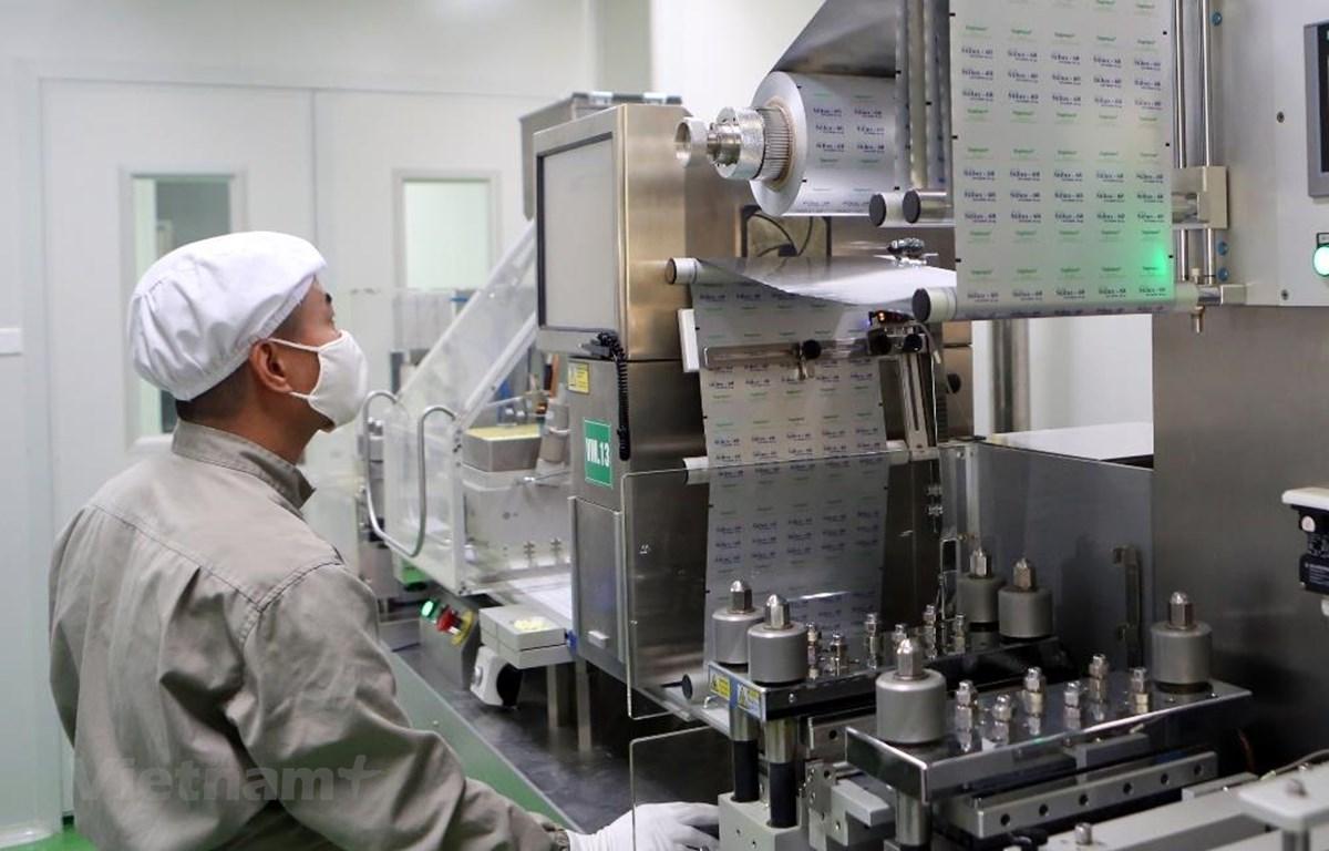 Chỉ số sản xuất công nghiệp tháng Bảy tăng 9,7% so với cùng kỳ năm 2018. (Ảnh minh họa. Nguồn: PV/Vietnam+)