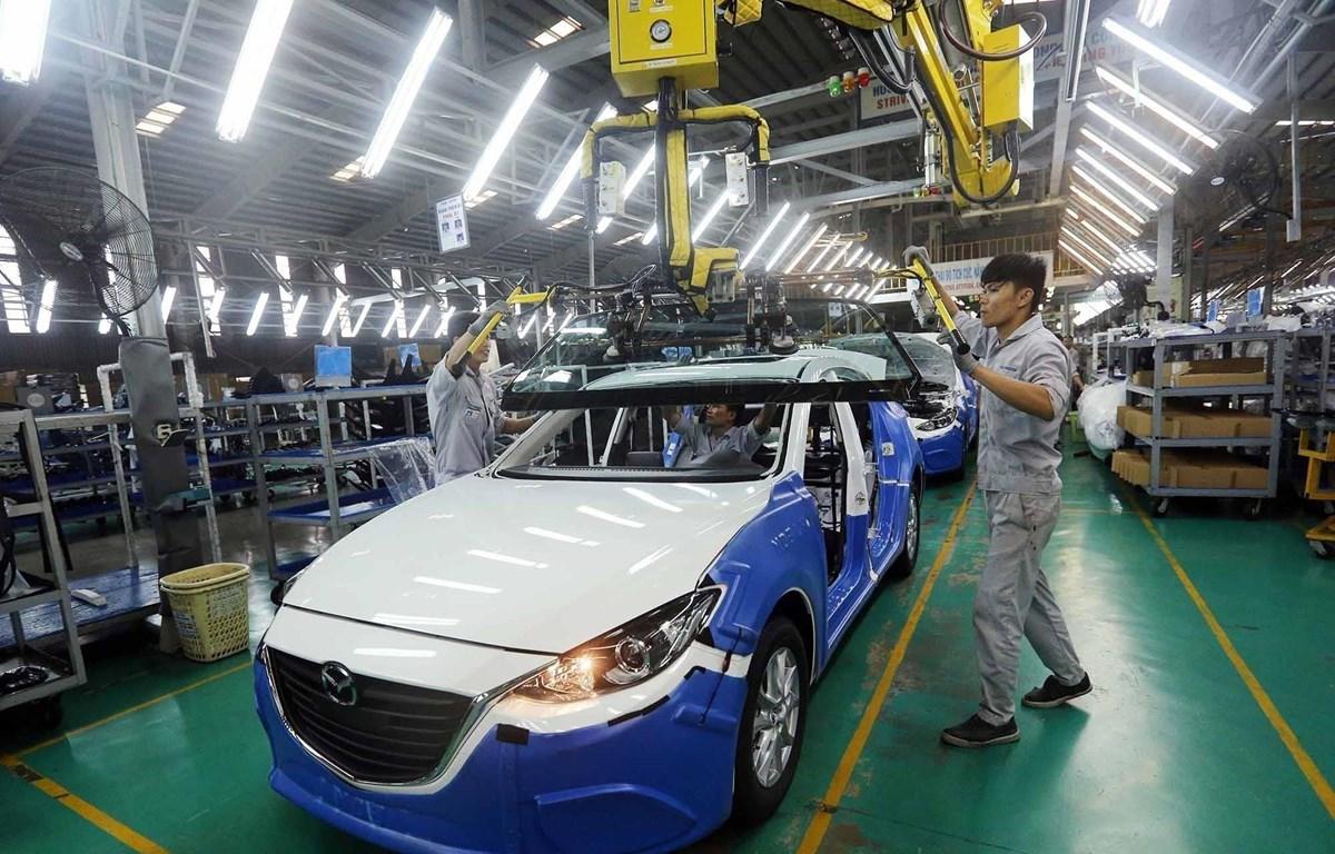 Chênh lệch về hiệu quả thu hút FDI giữa Việt Nam và Trung Quốc trong năm 2017 là tương đối hẹp với 36,4 tỷ USD của Trung Quốc và trên 30 tỷ USD của Việt Nam. (Ảnh minh họa. Nguồn:TTXVN)