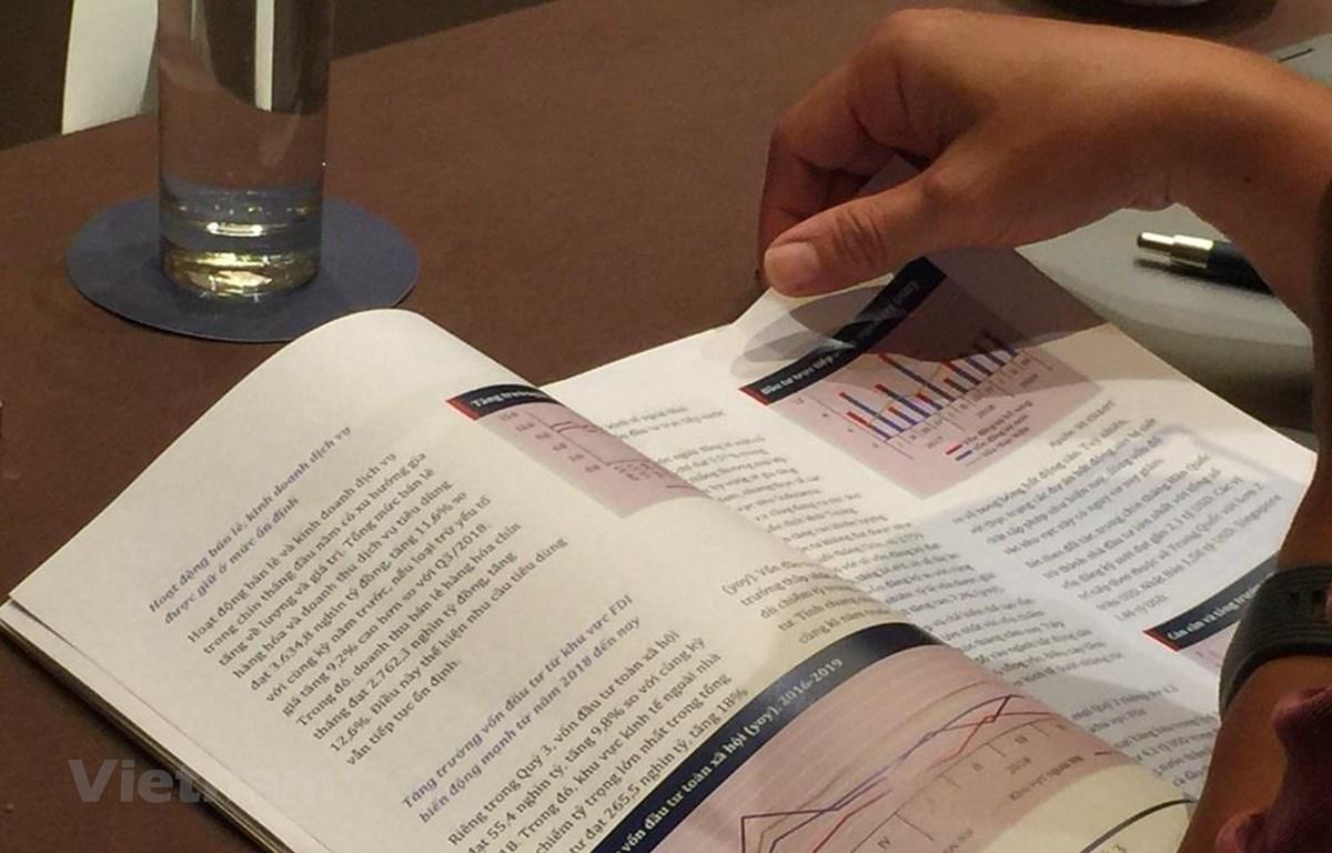 Báo cáo Kinh tế vĩ mô quý 3, do Viện nghiên cứu Kinh tế và Chính sách (VEPR) thực hiện và công bố ngày 10/10. (Ảnh: PV/Vietnam+)