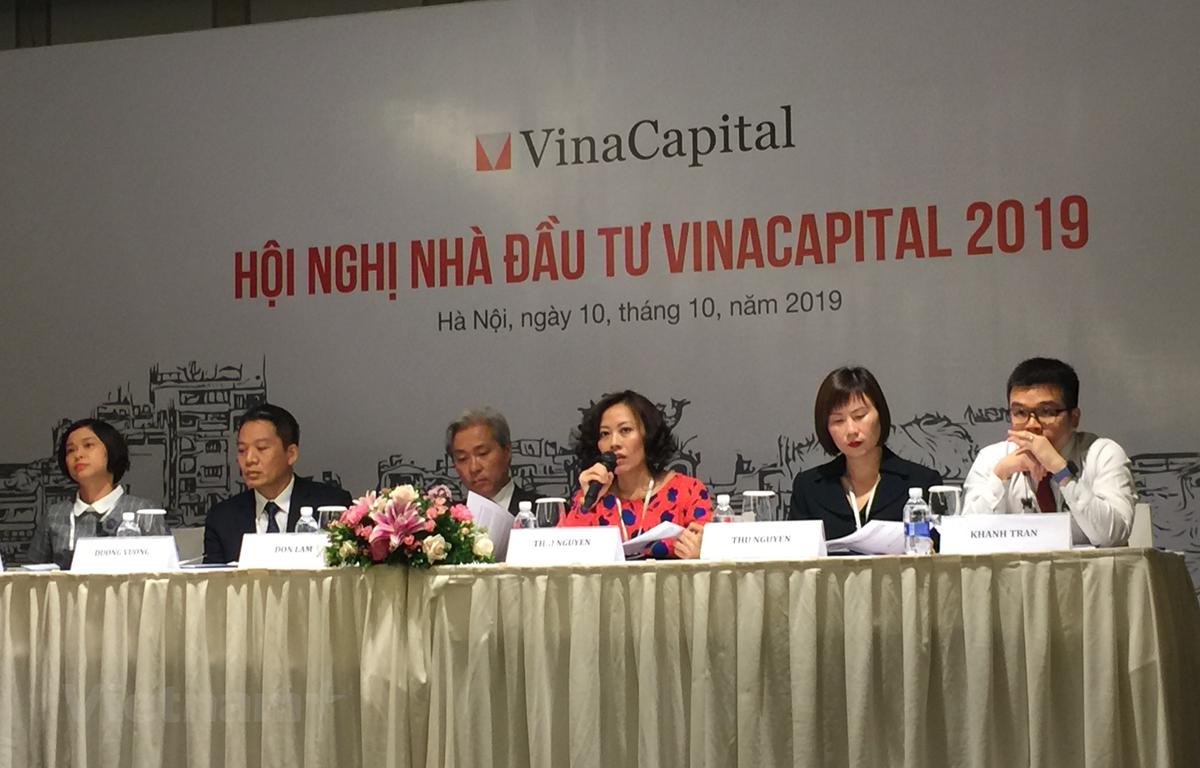 Hội nghị Nhà đầu tư VinaCapital 2019, ngày 10/10, tại Hà Nội. (Ảnh: PV/Vietnam+)