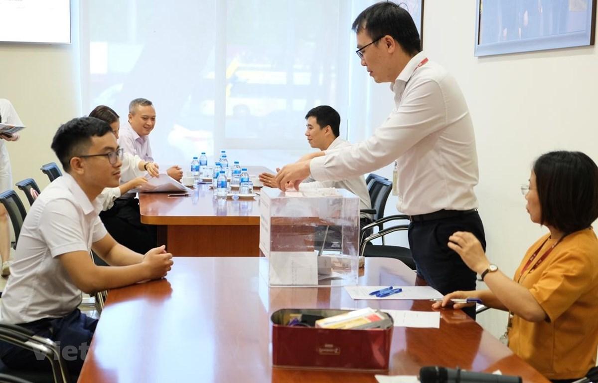 SCIC thoái hết 31,8% vốn điều lệ tại Dược Lâm Đồng. (Ảnh: HNX/Vietnam+)