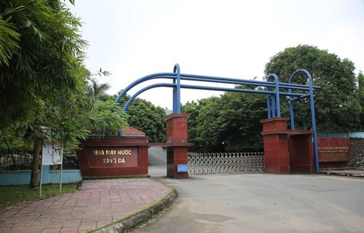 Nhà máy nước Sông Đà tại Kỳ Sơn, Hòa Bình. (Ảnh: Minh Sơn/Vietnam+)