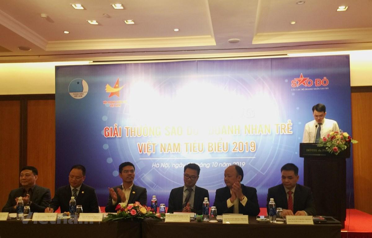 Giải thưởng Sao Đỏ - Doanh nhân trẻ Việt Nam tiêu biểu năm 2019 được triển khai từ tháng 10 – 12/2019. (Ảnh : PV/Vietnam+)