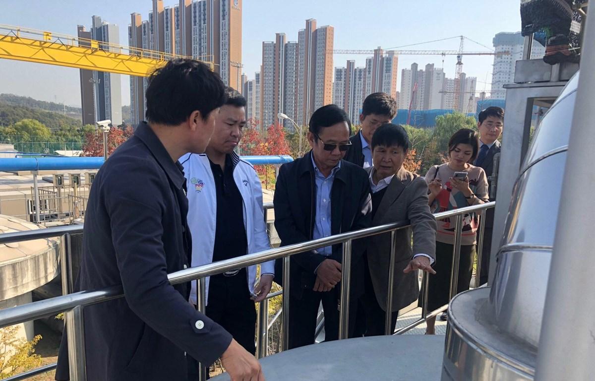 Thành phố Gyeongju sẽ hỗ trợ đội ngũ chuyên gia để cùng Tập đoàn Sơn Hà thành lập Viện nghiên cứu ngành nước. (Ảnh: SH/Vietnam+)