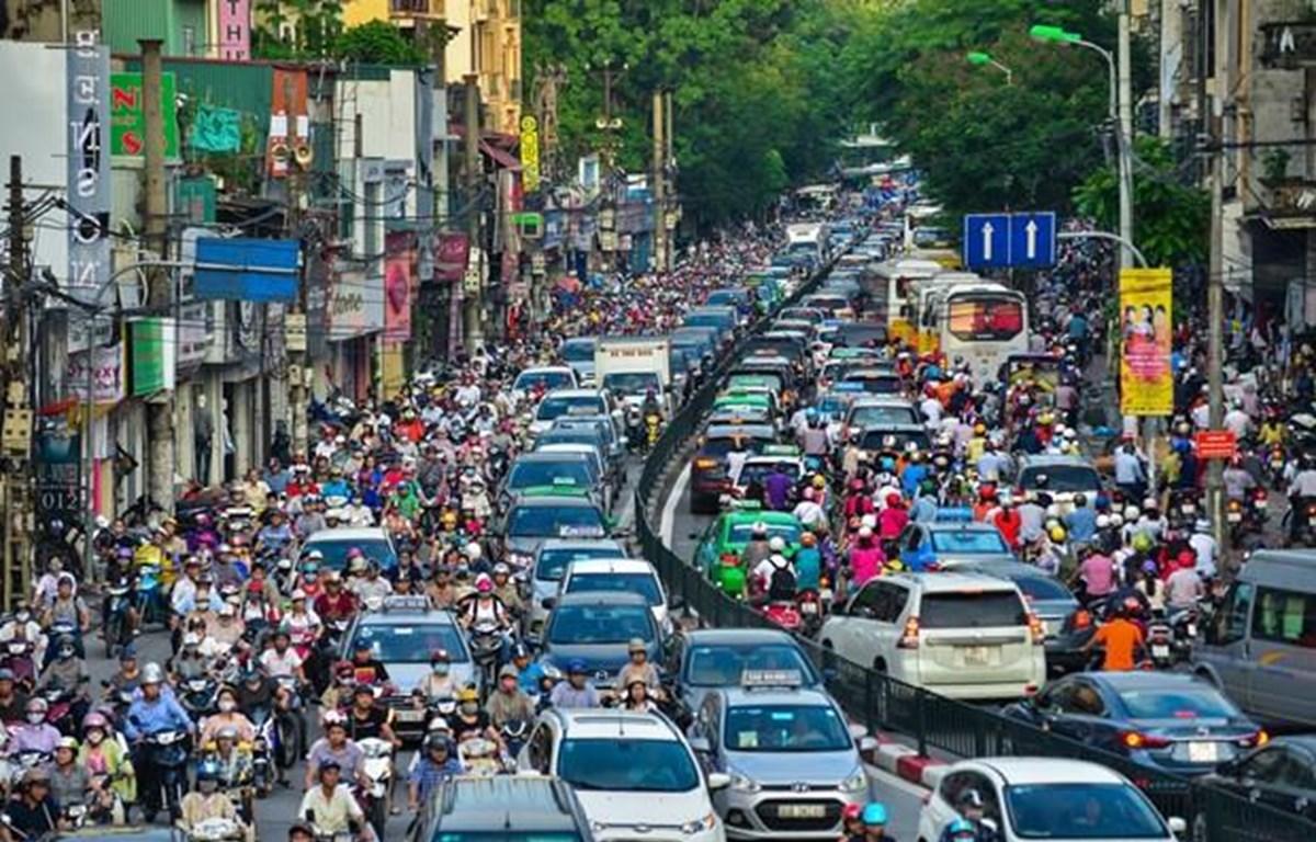 Thị trường xe máy điện tăng trưởng 30%-40%/năm. (Ảnh minh họa: Minh Sơn/Vietnam+)