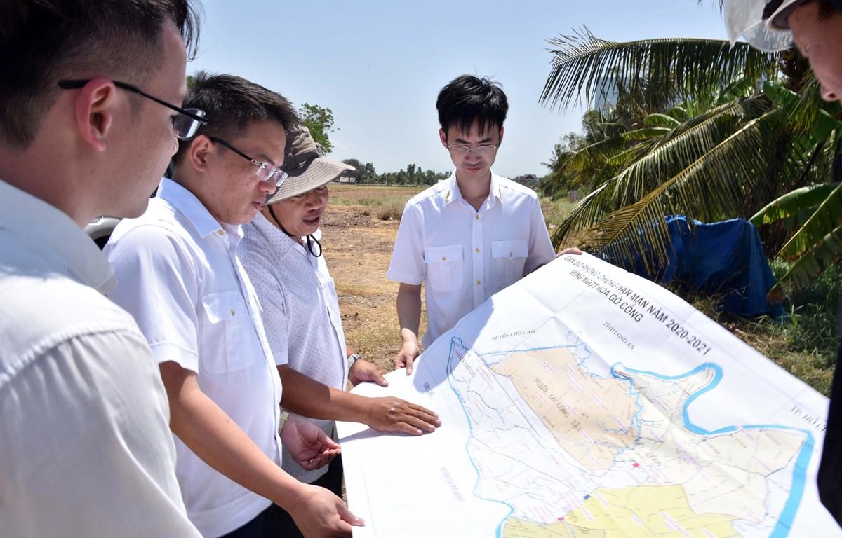 Thực hiện kiểm toán Nhà nước về quản lý nguồn nước lưu vực sông Mekong. (Ảnh: Vietnam+)