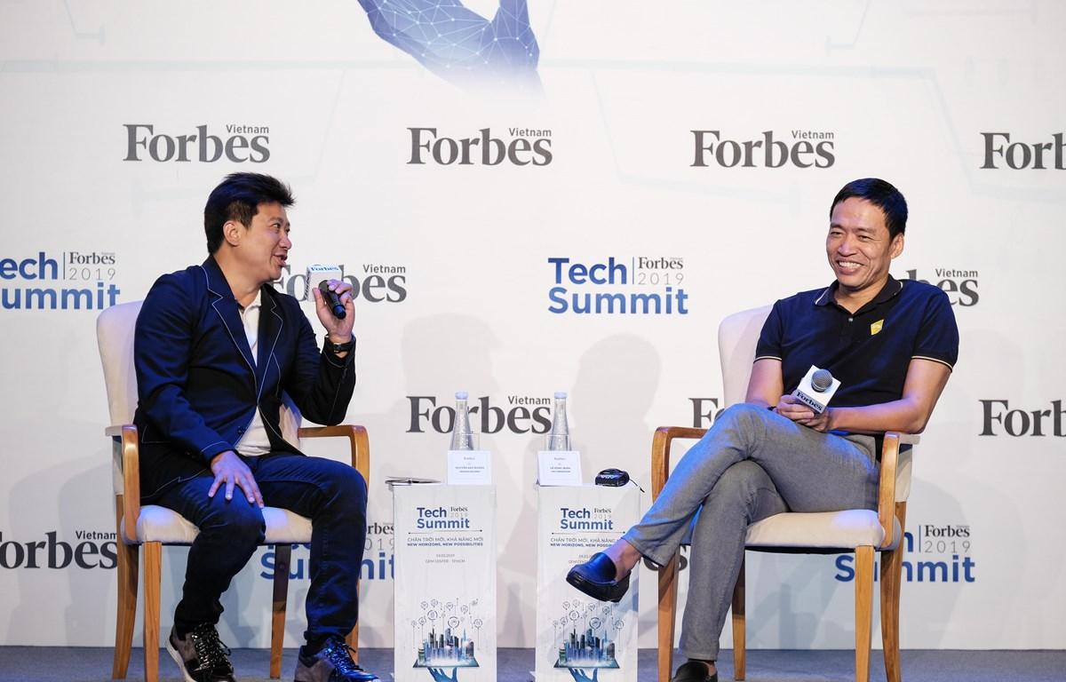 Chủ tịch CEO VNG Ông Lê Hồng Minh tại Tech Summit