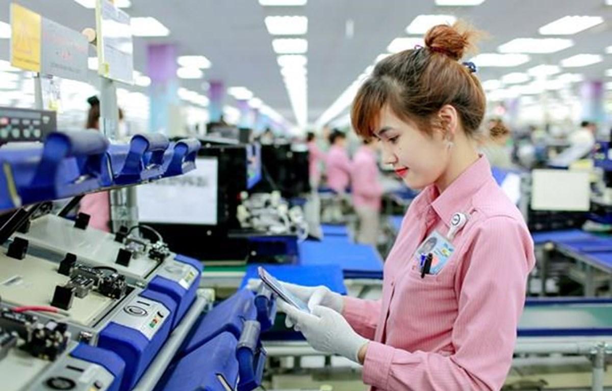 Công ty Điện tử Samsung Vina - một trong những doanh nghiệp Hàn Quốc đầu tư rất thành công tại Việt Nam. (Nguồn: CTV)