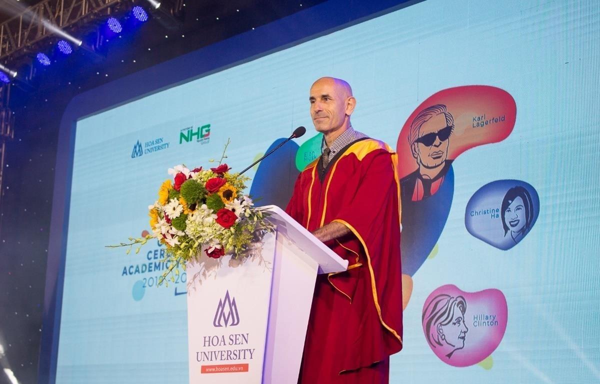 Giáo sư, Tiến sỹ Franco Gandolfi - Tân Trưởng Khoa Khoa Kinh tế và Quản trị Trường Đại học Hoa Sen.