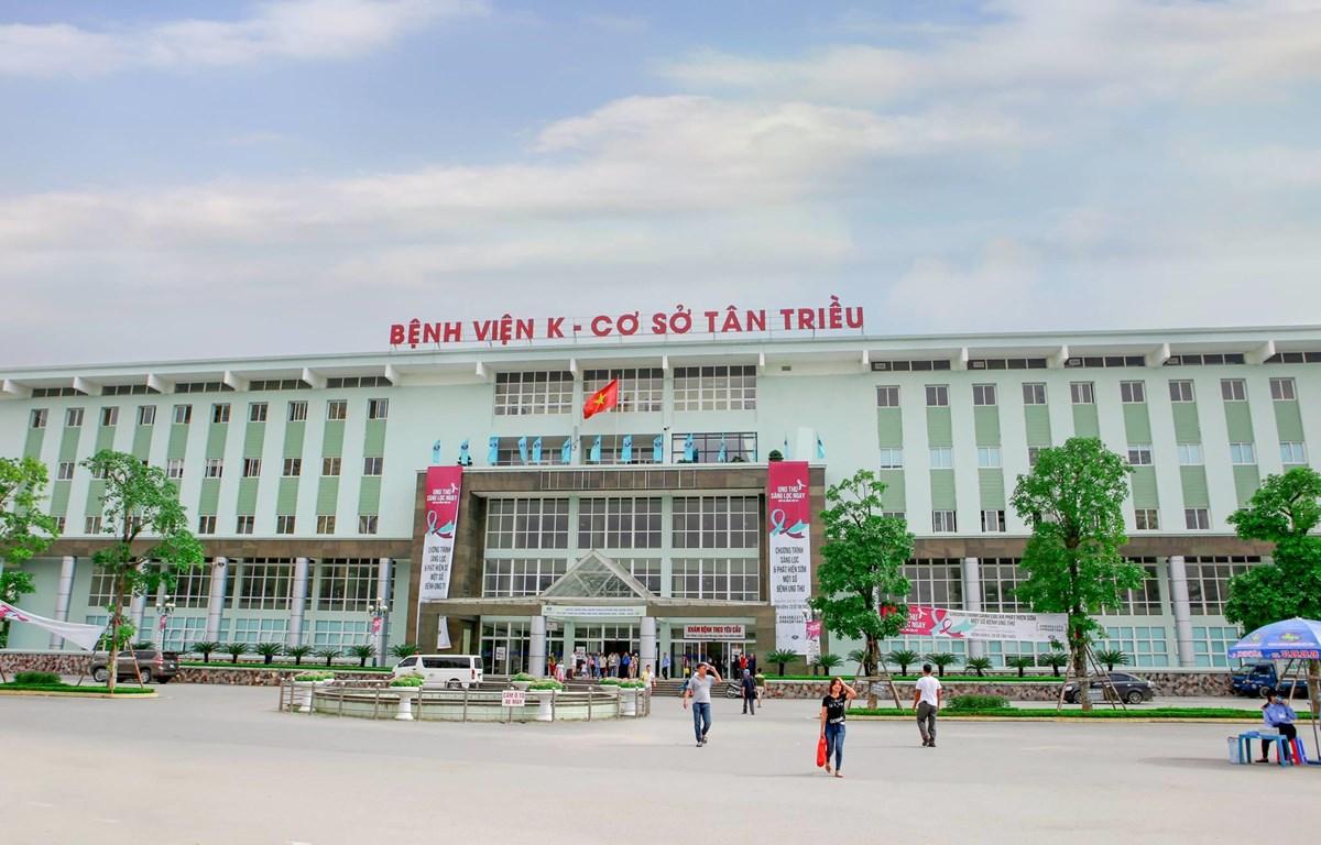 Bệnh viện K. (Ảnh: CTV/Vietnam+)