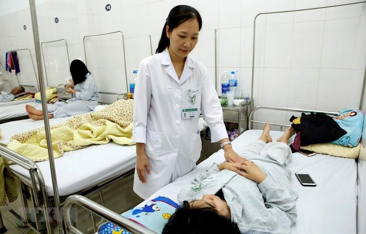 Bệnh nhân đang điều trị tại Viện sức khỏe tâm thần (Bệnh viện Bạch Mai). (Ảnh: Dương Ngọc/TTXVN)