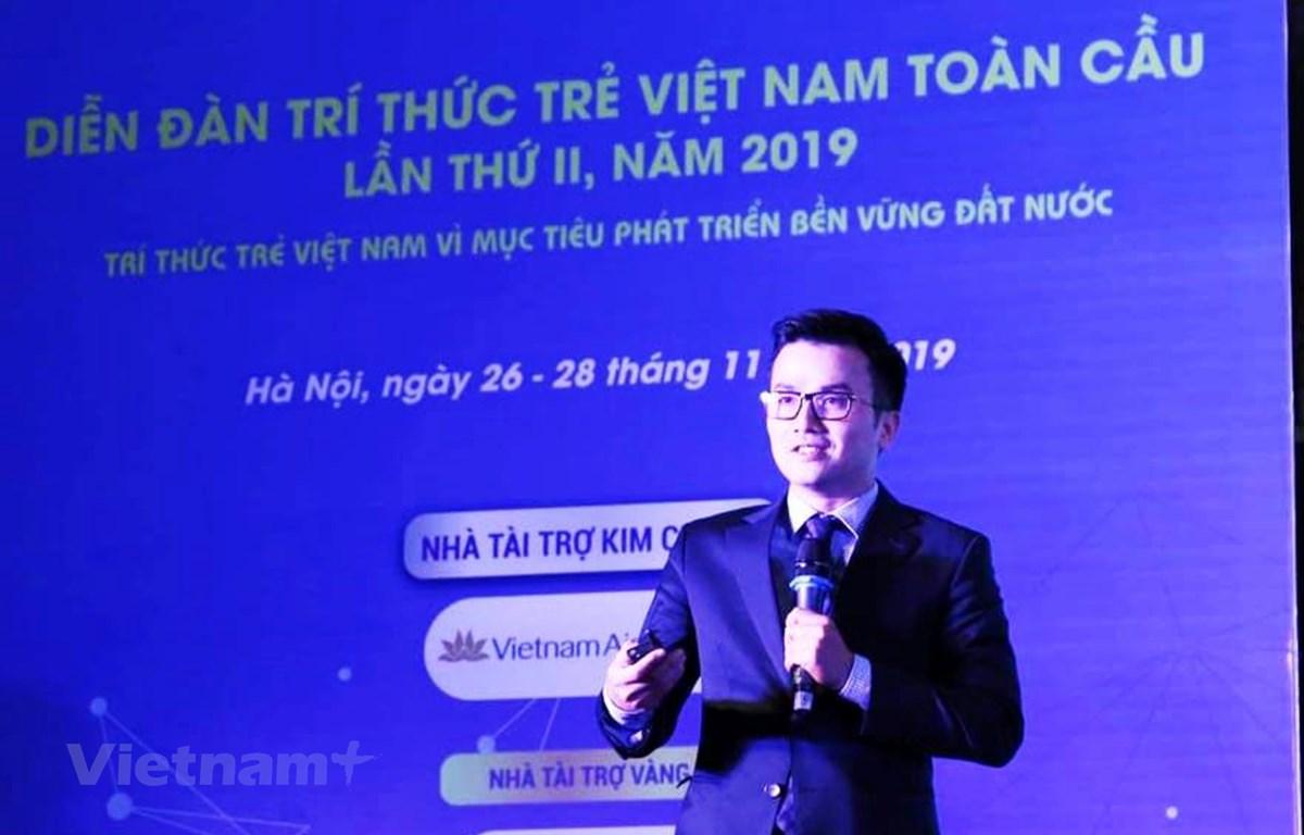Phó giáo sư Trần Xuân Bách - Giảng viên Trường Đại học Y Hà Nội. (Ảnh: PV/Vietnam+)