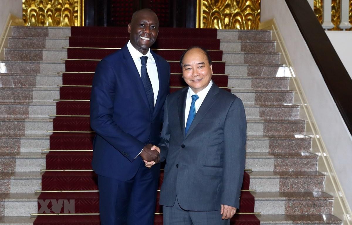 Thủ tướng Nguyễn Xuân Phúc tiếp ông Makhtar Diop, Phó Chủ tịch Ngân hàng Thế giới (WB)