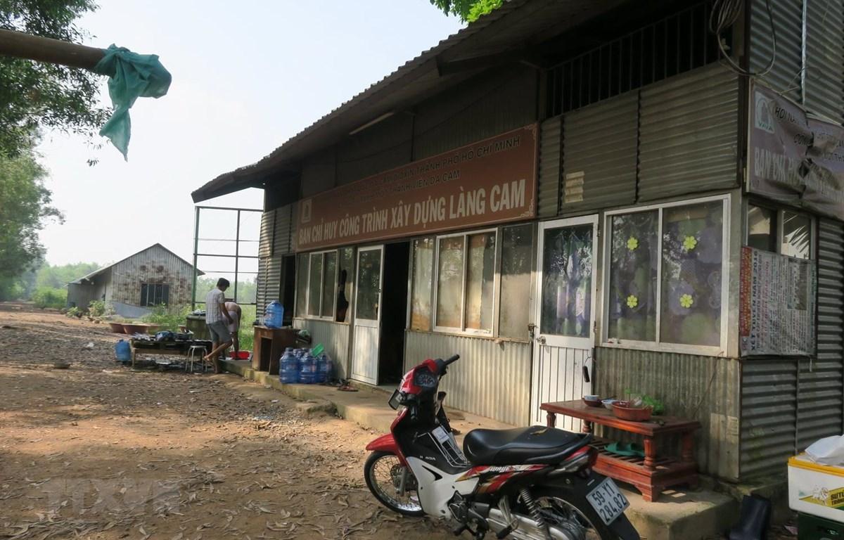 Sau bốn năm khởi công, dự án Làng Cam vẫn trùm mền. (Ảnh: Đinh Hằng/TTXVN)