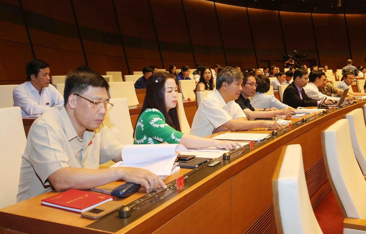 Tại Kỳ họp thứ bảy, Quốc hội khóa XIV vừa qua, Quốc hội đã thông qua nhiều Luật, dự án Luật quan trọng (Nguồn: TTXVN)