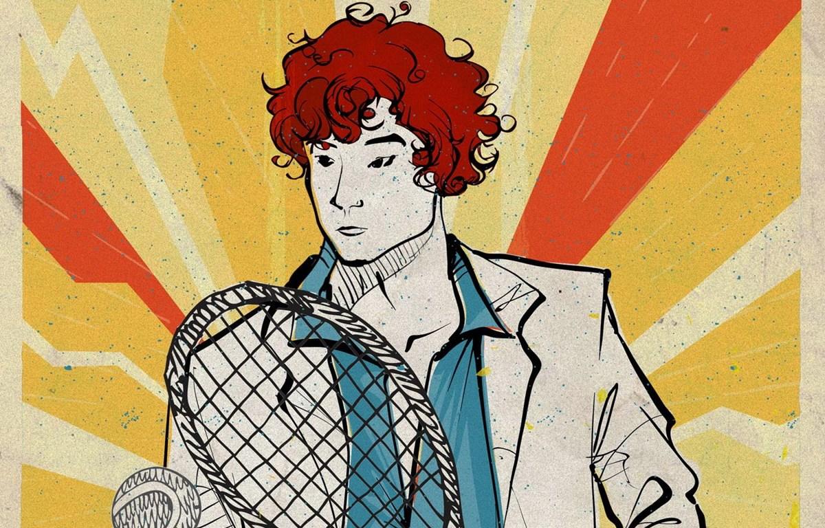 Tạo hình Xuân tóc đỏ trên poster của dự án (Nguồn: CJ)