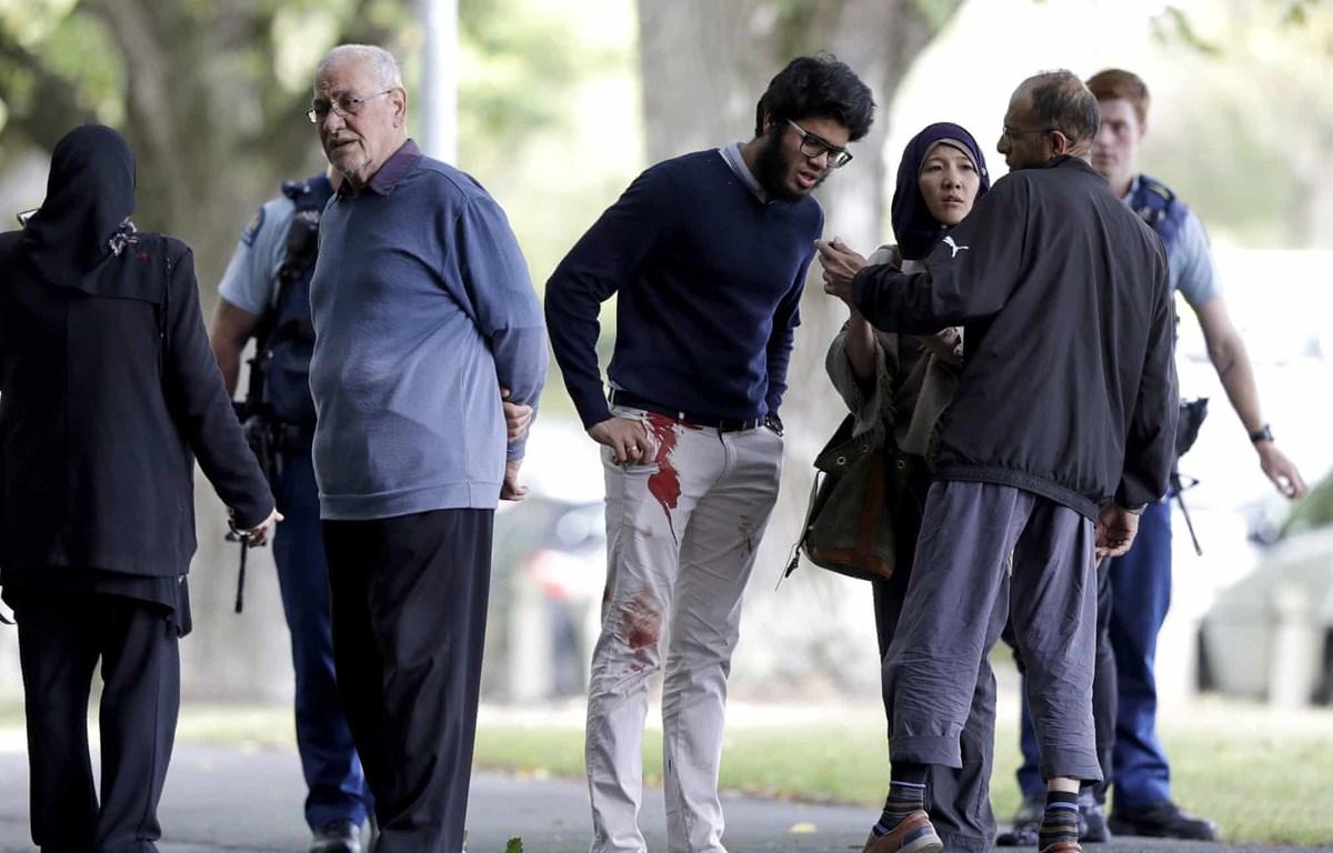 Một nạn nhân vụ xả súng ở thành phố Christchurch của New Zealand, ngày 15/3. (Ảnh: AFP/TTXVN)