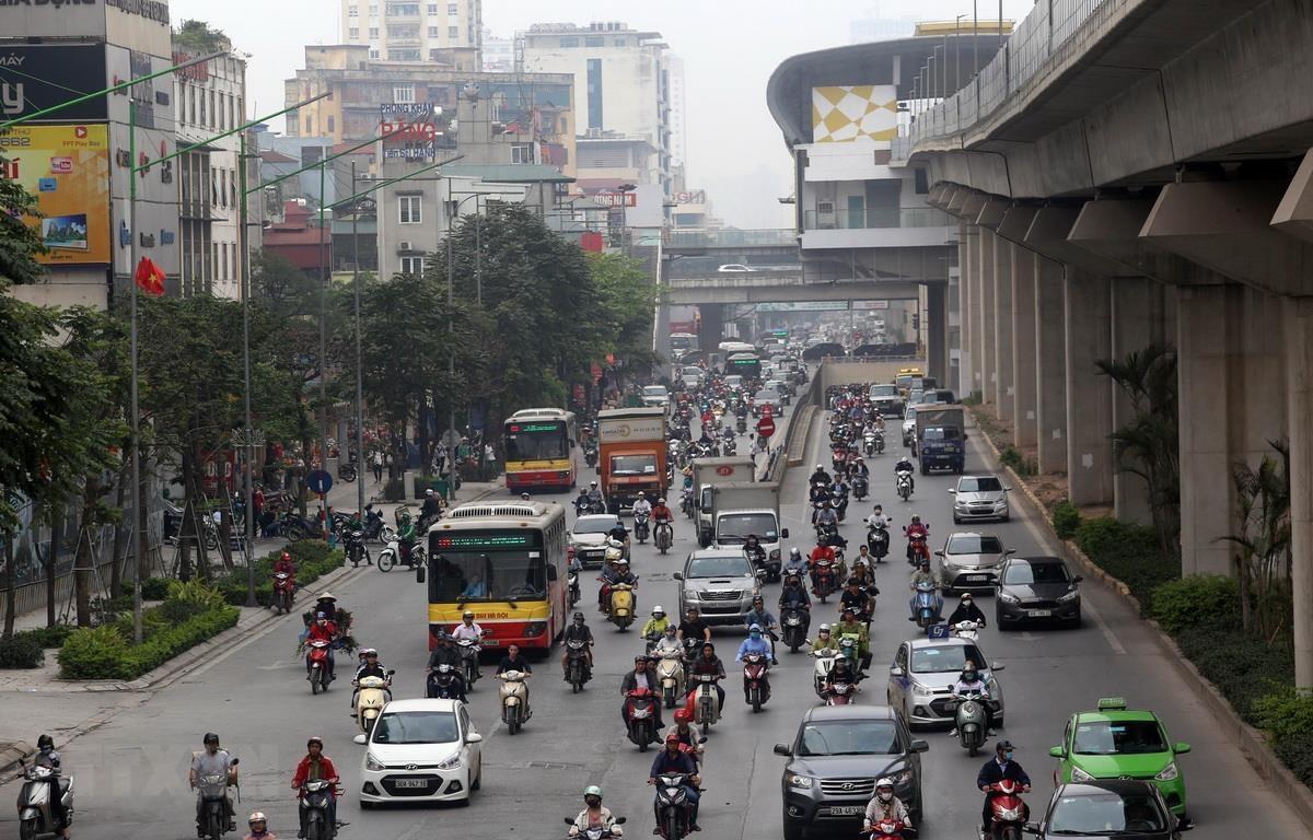 Sẽ có khoảng 30 tuyến xe buýt được tổ chức lại. (Ảnh: Huy Hùng/TTXVN)