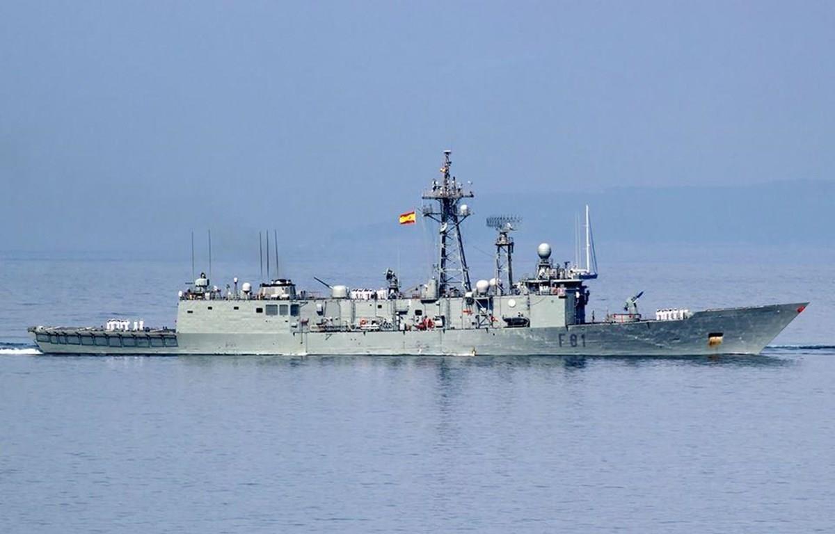 Tàu chiến của NATO ở Biển Đen. (Nguồn: Ukrinform)