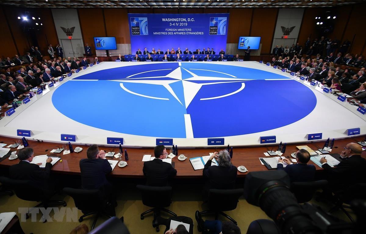 Toàn cảnh Hội nghị Ngoại trưởng NATO tại Washington, DC, ngày 4/4 vừa qua. (Ảnh: AFP/TTXVN)