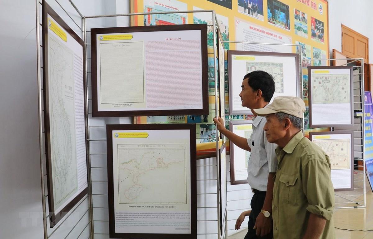 Hoạt động góp phần nâng cao hiệu quả tuyên truyền về chủ quyền biển, đảo Việt Nam. (Ảnh: Ninh Đức Phương/TTXVN)
