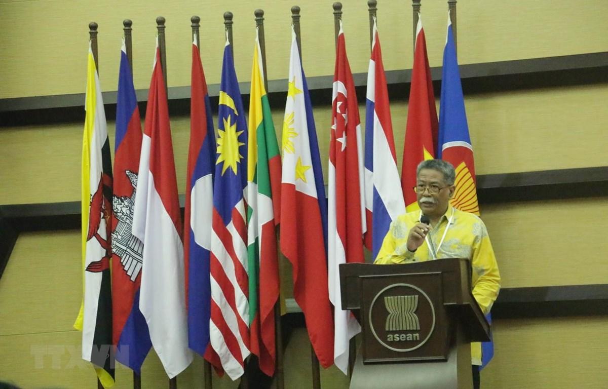 Phó Tổng thư ký ASEAN, ông Mochtan phát biểu khai mạc diễn đàn. (Ảnh: Đỗ Quyên/Vietnam+)