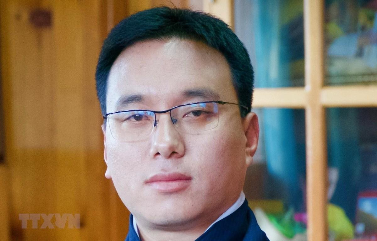 Ngài Tashi Dorji, Chủ tịch Hội đồng Quốc gia Vương quốc Bhutan. (Ảnh: TTXVN phát)