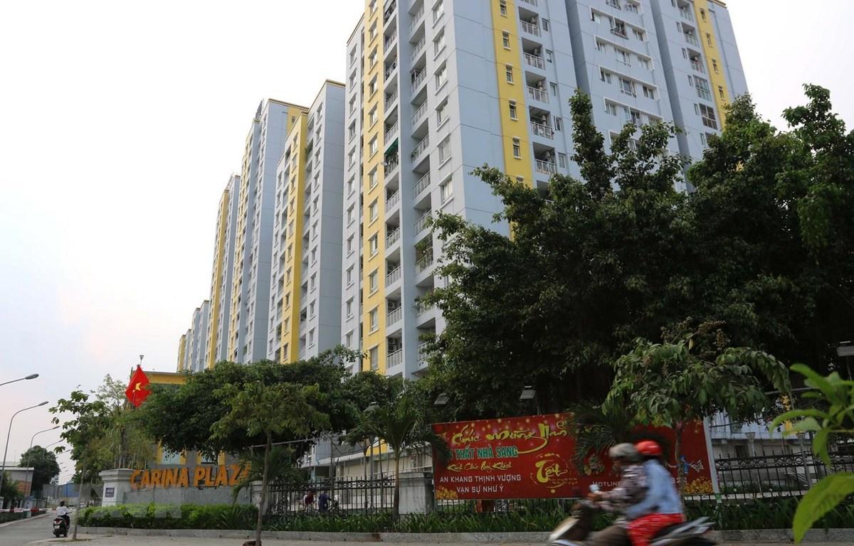 Chung cư Carina Plaza. (Ảnh: Thanh Vũ/TTXVN)