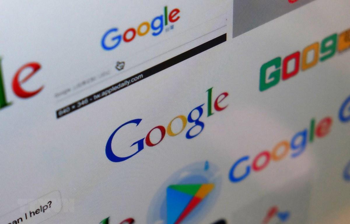 Biểu tượng của Google. (Ảnh: AFP/TTXVN)