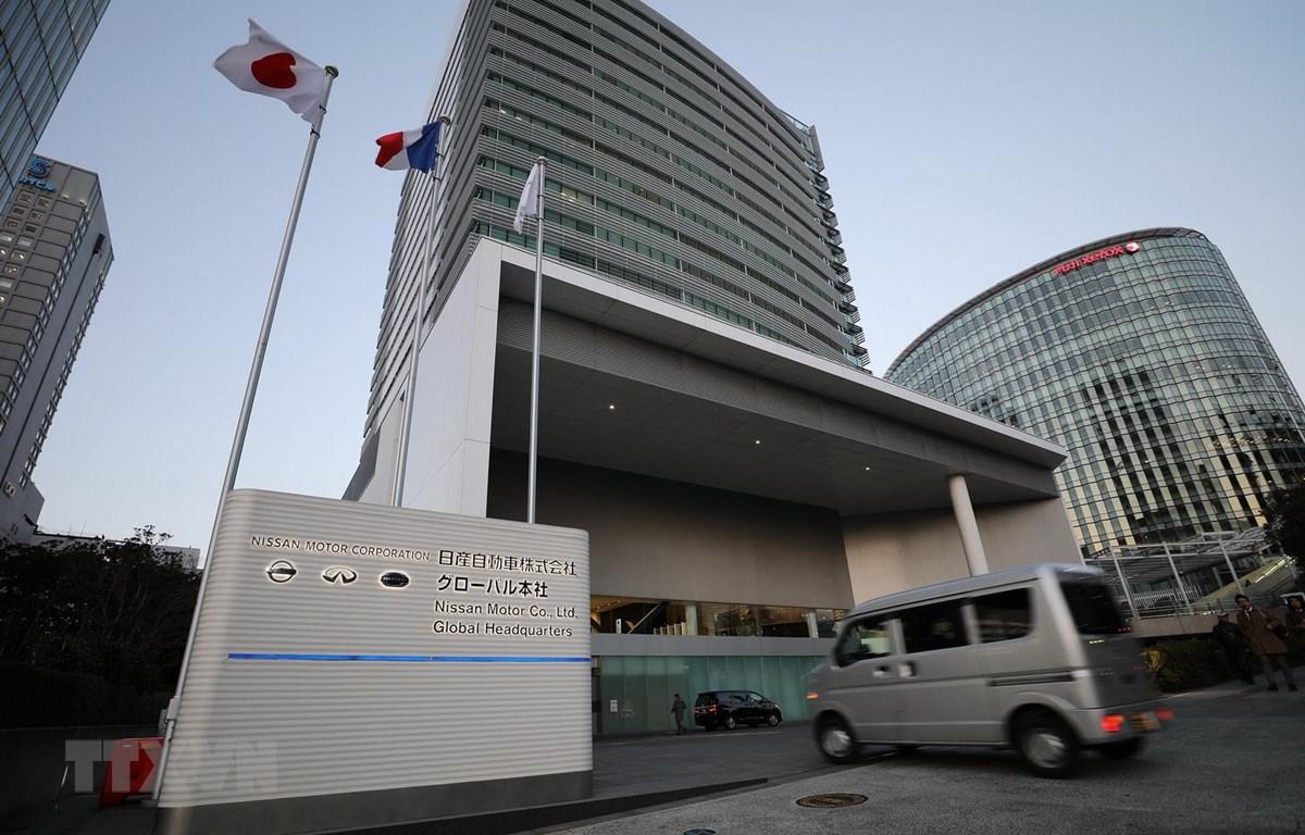 Trụ sở Nissan tại Yokohama của Nhật Bản. (Ảnh: THX/TTXVN)
