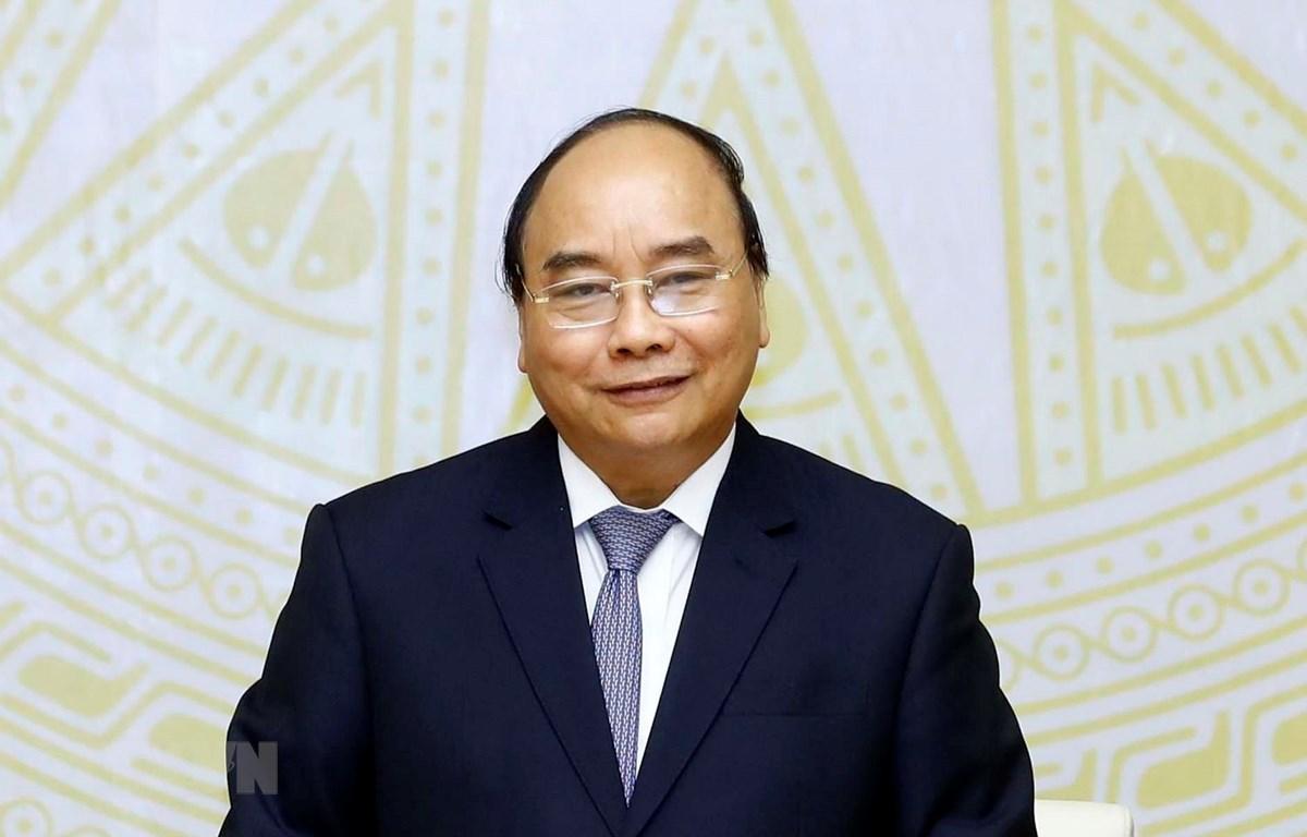 Thủ tướng Nguyễn Xuân Phúc. (Ảnh: Thống Nhất/TTXVN)