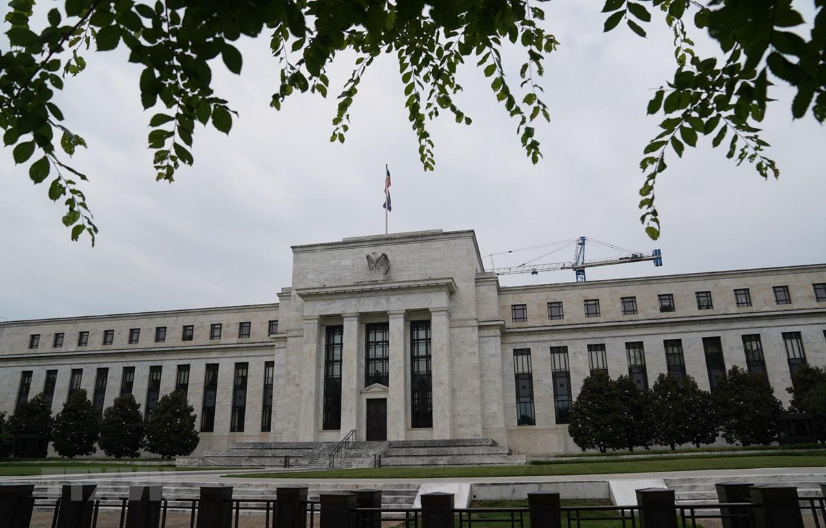 Trụ sở Ngân hàng Dự trữ liên bang Mỹ (Fed) ở Washington, DC. (Ảnh: THX/TTXVN)