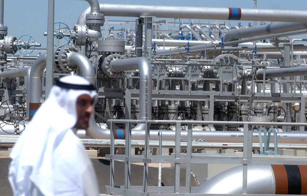Một cơ sở khai thác dầu tại Al-Rawdhatain của Kuwait. (Ảnh: AFP/TTXVN)