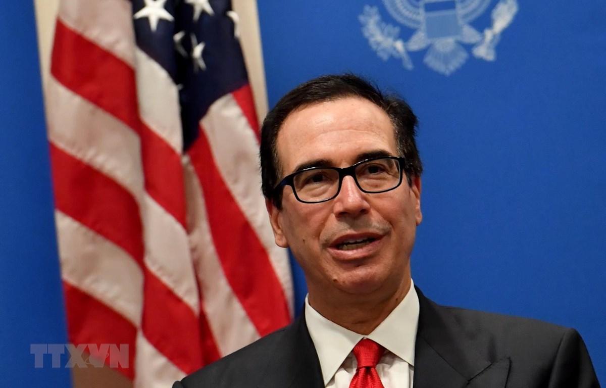 Bộ trưởng Tài chính Mỹ Steven Mnuchin. (Ảnh: AFP/TTXVN)